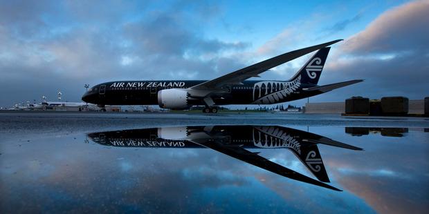 Loading Air New Zealand's 787-9 Dreamliner fleet has allowed the airline to boost capacity Photo / Brett Phibbs