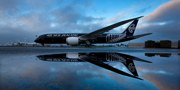 Air NZ carried 1.26 million passengers during July, an increase of 6.5 per cent on the previous year. Photo / Brett Phibbs