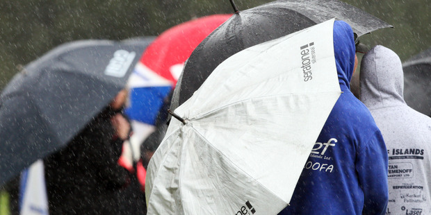 Umbrellas will be needed today with heavy rain forecast for Northland