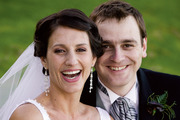 Lecretia Seales with her husband Matt Vickers on their wedding day, April 2006. Photo / Nicola Topping