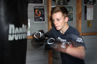 Sam Nicol's attitude to boxing and school work cannot be questioned. Photo / Duncan Brown