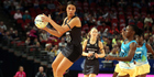 Grace Rasmussen has been ruled out of the Silver Ferns' clash with England. Photo / photosport.nz