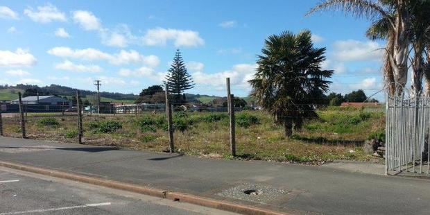 The site of the former Kaikohe Hotel. Photo / Sandy Myhre
