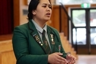 Emeline Mafi student of Aorere College Auckland. Emeline will be competing in the competition Stand Up and Stand Out.​
