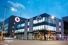 The Green Star Kathmandu and Vodafone buildings in Christchurch - Photo credit Kathmandu Ltd.