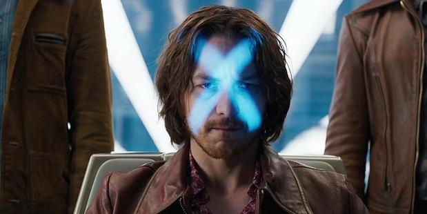 James McAvoy stars as a young Professor Xavier in the X-Men films.