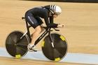 New Zealand track cyclist Lauren Ellis. Photo / Greg Bowker