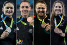 The New Zealand athletics team won four medals in Rio, an impressive effort. Photos Getty/Photosport/AP