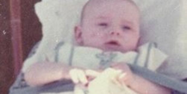 Darren Shannon was eleven months old when he was last seen on Saturday 9 June 1973 at his grandparents house. Photo / Supplied