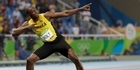 Watch: Usain Bolt celebrates final gold with a javelin throw