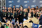 The Olympic athletes are welcomed home at a ceremony at The Cloud in Auckland. Photo / Mike Scott