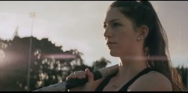 Eliza McCartney in a still shot from a television commercial for Anchor. Photo / YouTube