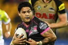Issac Luke could make an early return from surgery for the Warriors on Sunday. Picture / Photosport.nz