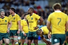 The Wallabies are adamant they can return from the outhouse to the penthouse within a week. Photo / Photosport