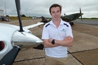 Lachlan Smart was lucky to survive his world record feat. Photo / AP