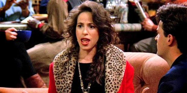 Maggie Wheeler as Janice on TV comedy Friends sound completely different in real life.