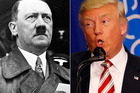 Donald Trump scored two points higher than Hitler on a test for psychopathic traits, according to Oxford University. Photo / AP