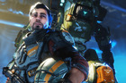 A scene from Titanfall 2.