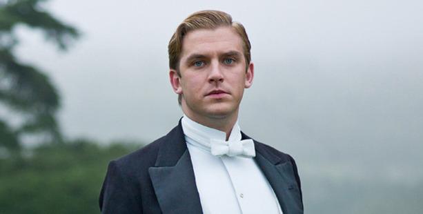 Dan Stevens in the TV show, Downton Abbey.