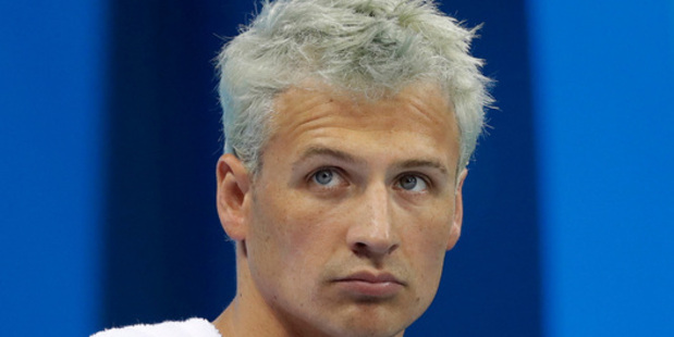 Loading An American report has claimed Rio police exaggerated the truth in their version of the messy Ryan Lochte scandal. Photo / AP
