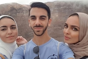 Siblings Maryam, 19, Ali, 21, and Sakina Dharas, 24, had taken their seats on the flight from London Stansted to Naples when they were escorted out of the plane.