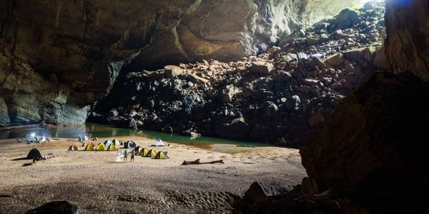 Expedition tours include a four-night stay inside the cave. Photo / TripAdvisor traveller