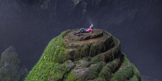 Only a few lucky people have been able to access the magnificent Son Doong cave in Vietnam. Photo /  TripAdvisor traveller