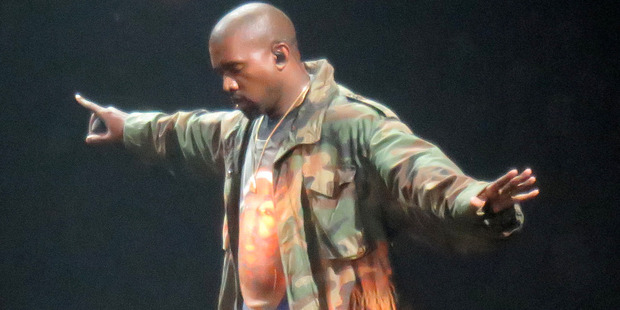 """Who knows what Kanye will get up to now he's got """"free reign"""" at the VMAs? Photo / Splash News"""