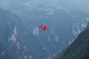 Alexander Polli, a skydiver and pioneer in BASE jumping, died after a wingsuit crash in the French Alps. Photo / Getty