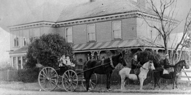 The house was originally the home of one of Carterton's most prominent citizens William Booth. Photo / Supplied