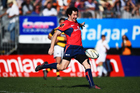 Marty Banks led Tasman to a Mitre 10 Cup victory over Tasman. Photo / photosport.nz