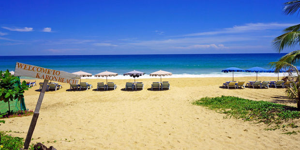 The eye-catching Karon Beach is right across the road. Photo / 123RF