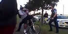 Watch: Cops get rough with cyclist