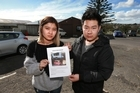 Chanidsara Supra-At Takul and Gritsaru Janshinorat had their food truck stolen and are appealing for it to be returned