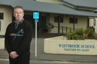 Westbrook Primary School principal Colin Watkins talks about procedure after the school went into lockdown today.