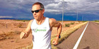 This year, Engle took part in a 5000km relay across the United States.