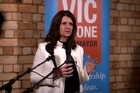 Auckland mayoral candidate Vic Crone launched her campaign tonight and is promising to fast-track a second harbour crossing with provision for rapid transit.