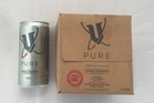 V Pure  $7 for 4 x 200ml cans. Photo / Supplied