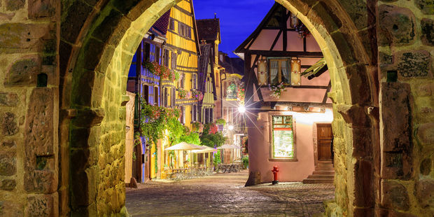 Florence Jeanblanc-Risler recommends visiting beautiful French villages like Riquewihr, in Alsace. Photo / 123RF