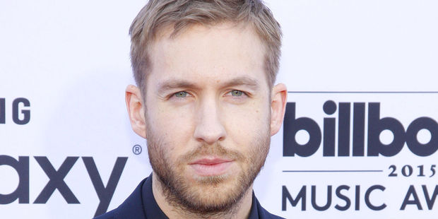 Calvin Harris took to Instagram to wish his manager, Mark Gillespie, a happy birthday - in his underwear. Photo / 123rf