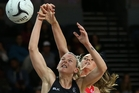 Katrina Grant was bedridden for a couple of days before her first test as Silver Ferns captain. Photo / Photosport