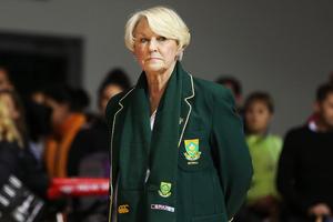 Head Coach Norma Plummer of South Africa. Photo / Photosport