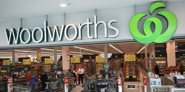 Woolworths made a A$1.2 billion ($1.25b) net loss. Photo / AFP