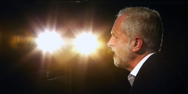 Party members like Britain's Labour Party leader Jeremy Corbyn. Photo / AP