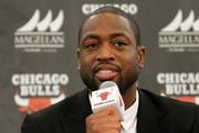 Chicago Bulls player Dwyane Wade. Photo / AP