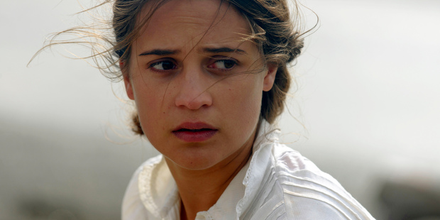 Alicia Vikander in a scene from The Light Between Oceans. Photo/AP