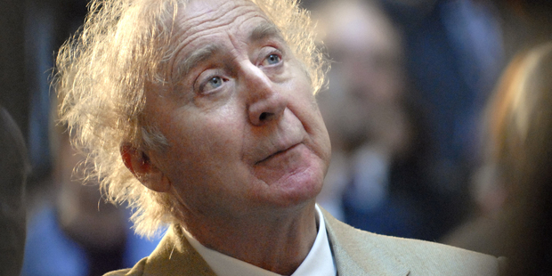 Comedy great Gene Wilder died this week of complications from Alzheimer's at age 83. Photo / AP