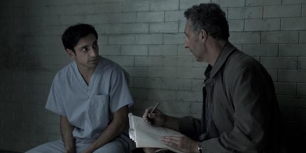 Riz Ahmed (left) and John Turturro in the HBO television drama The Night Of picture supplied PUBLICITY HANDOUT NZH 12Aug16 - Riz Ahmed (left) is utterly convincing as the accused murd