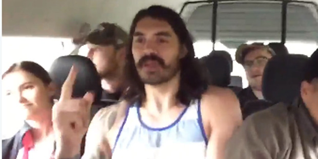 Loading If the Backstreet Boys are looking for a sixth member, Kiwi basketball sensation Steven Adams would be a popular addition. Photo / Twitter.