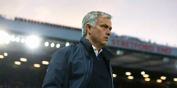 Manchester United's manager Jose Mourinho. Photo / AP